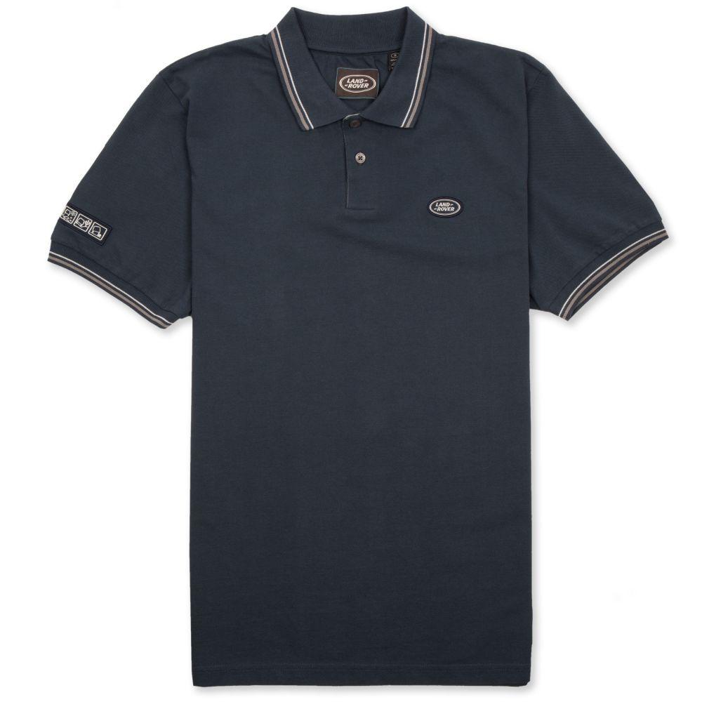 Polo à badge ovale pour homme