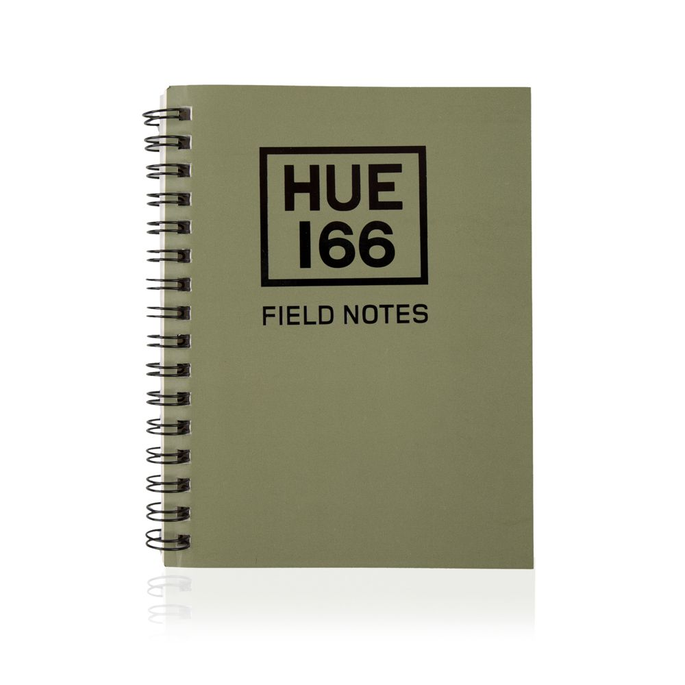 Cuaderno pequeño A6 Hue - Green