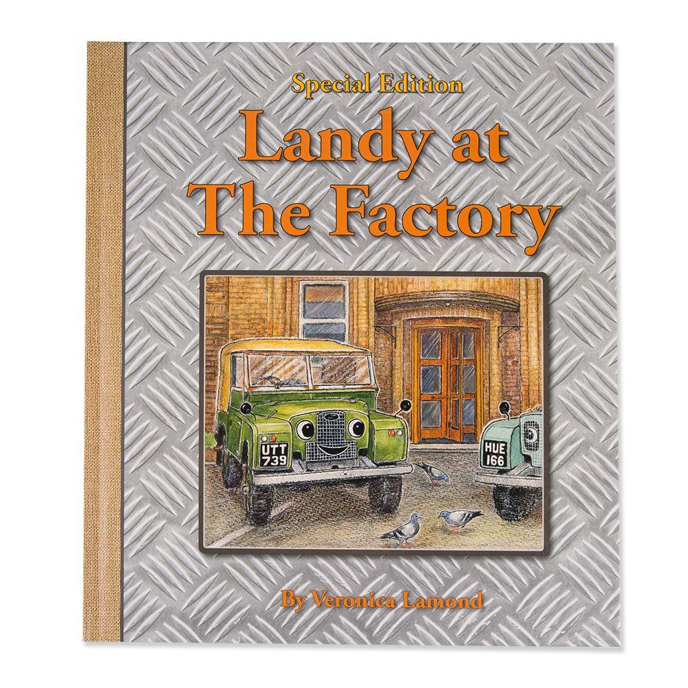 "Livre en anglais ""Landy at the Factory"""