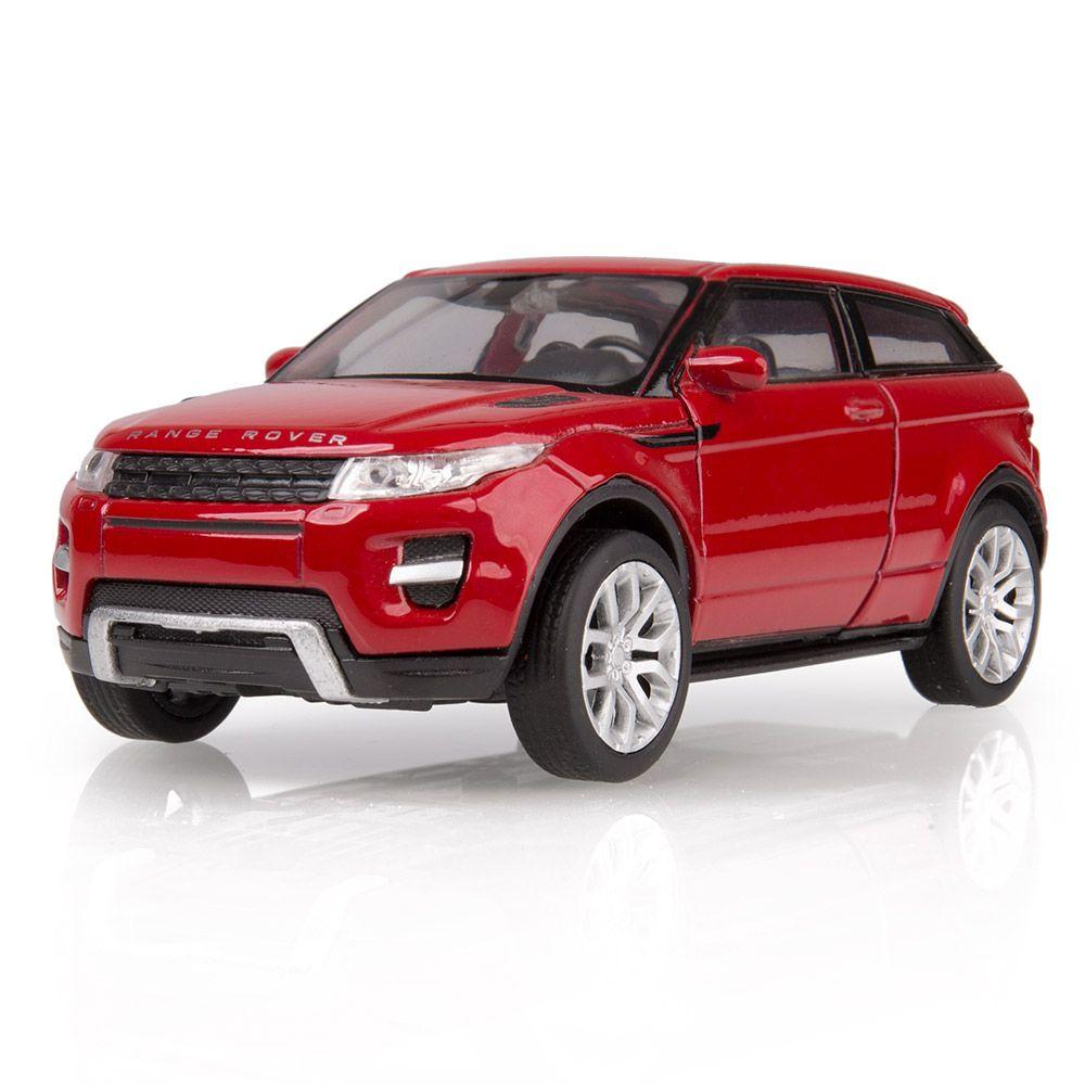 Maqueta de accionamiento retráctil del Range Rover Evoque de tres puertas a escala 1:38