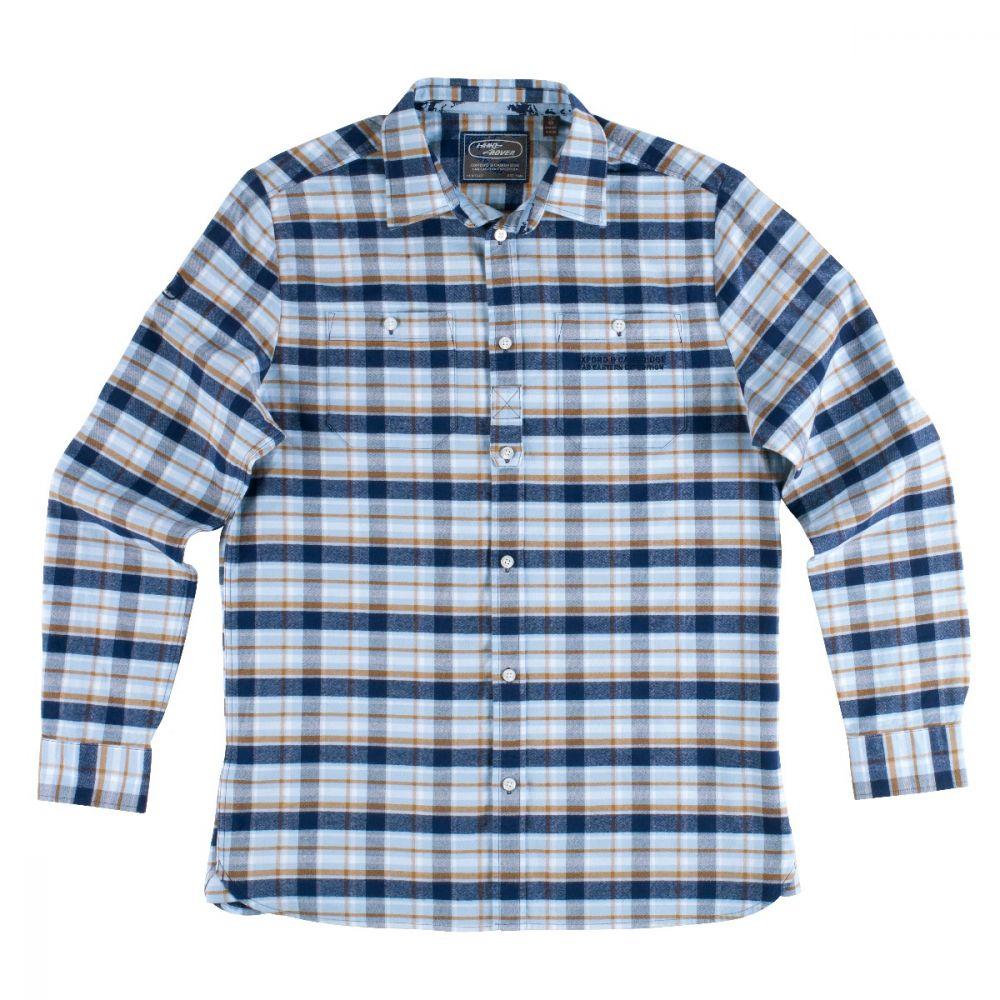 Chemise à carreaux Héritage pour homme