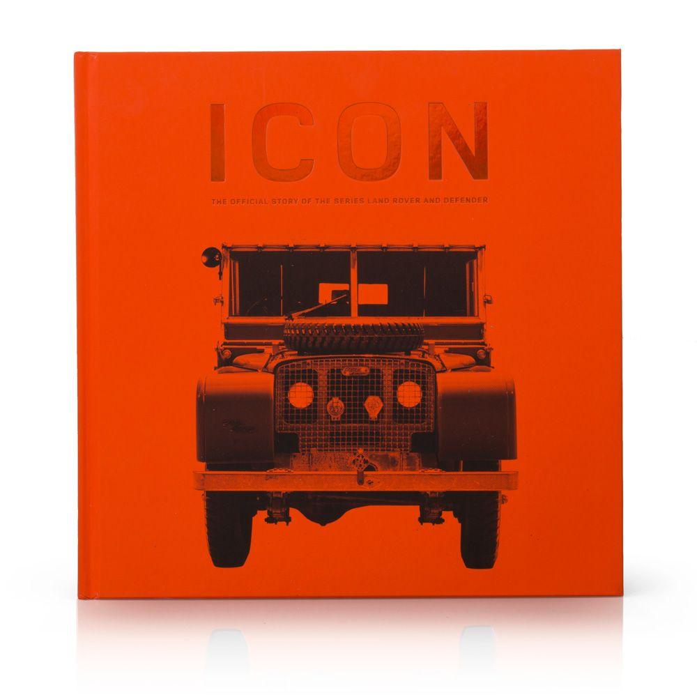 ICON - Livre officiel Land Rover (en Anglais)