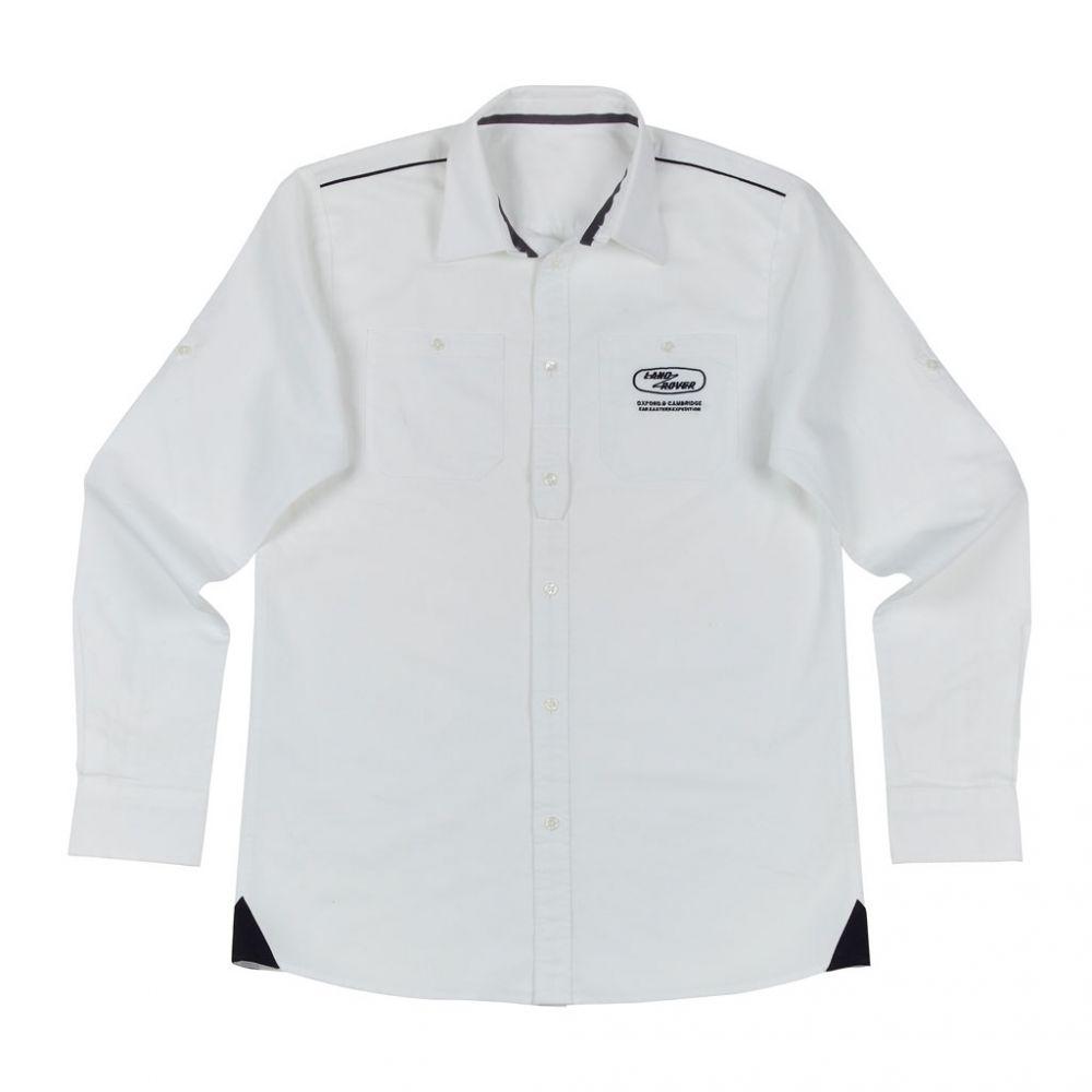 Camisa Heritage para hombre - White
