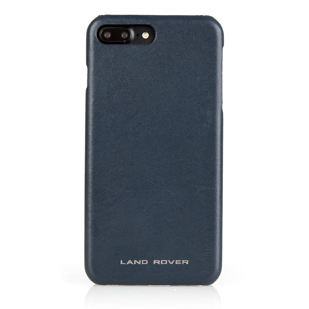 Leather iPhone 8+ Case - Navy